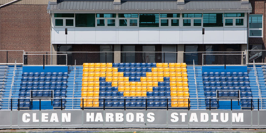 Massachusetts Maritime Academy - Pressbox and Grandstands
