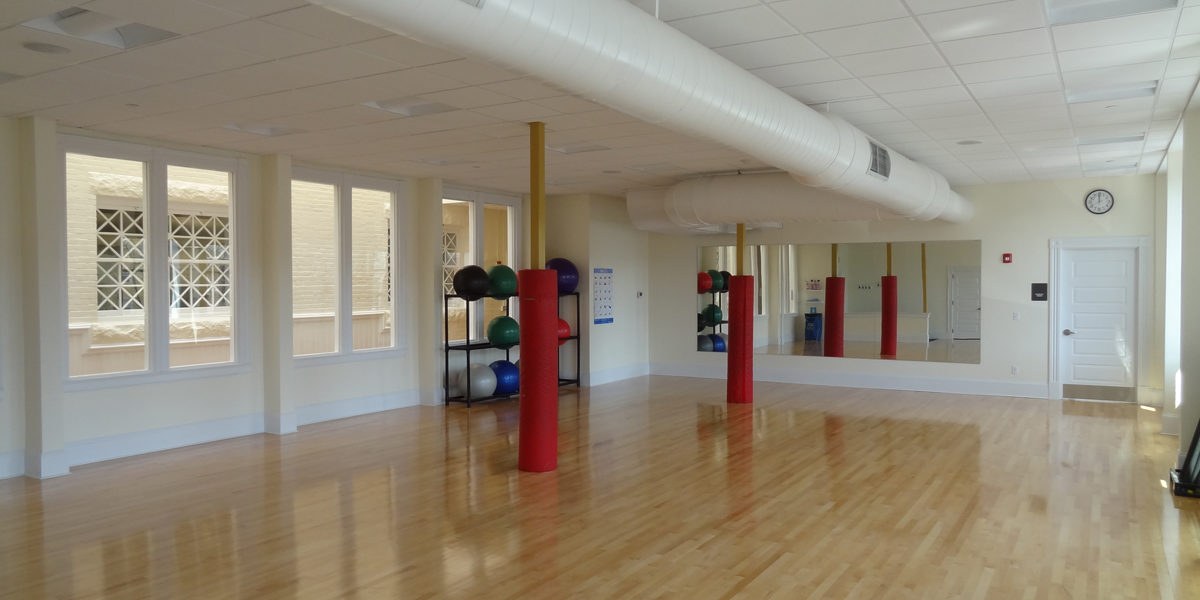 Fall River YMCA - Wellness Center / Aerobic Room