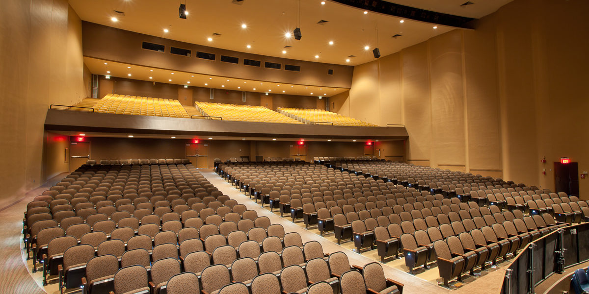 Bridgewater State University (BSU) - Rondileau Campus Center Auditorium