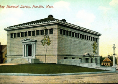 Franklin Ray Memorial Library Study