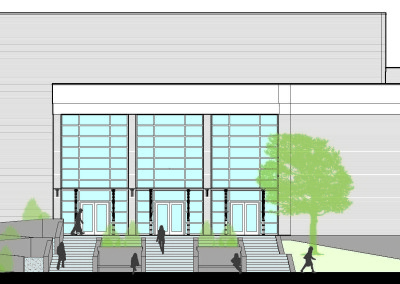 BSU Campus Center Auditorium Entrance Study