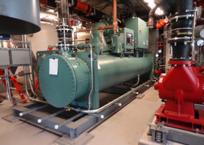 UMA Central Heating Plant Gas Turbine Inlet Cooling
