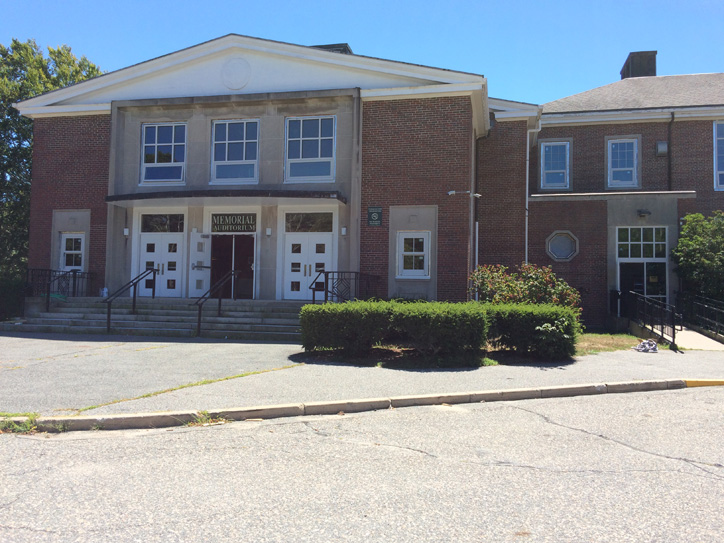 MSBA Falmouth School Window Replacement - Auditorium Entrance