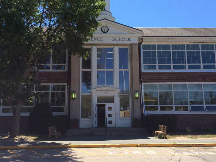 MSBA Falmouth School Window Replacement - Main Entrance