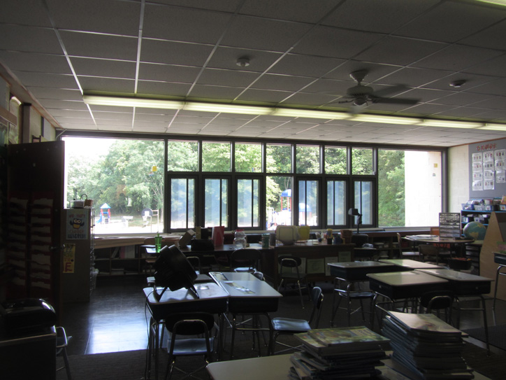 MSBA Peabody McCarthy School Window Replacement - Interior